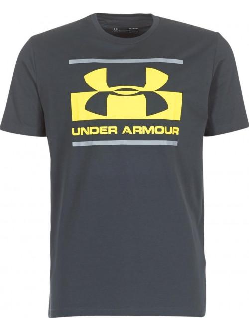 T-Shirt Under Armour Blocked dunkelgrau