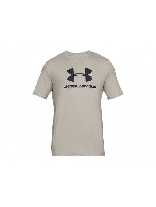 T-Shirt Under Armour Sportstyle Logo beige
