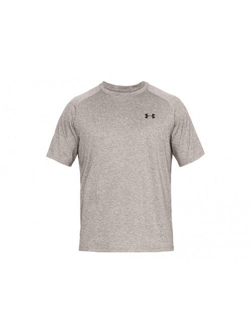 Herren T-Shirt Under Armour TECH 2.0 SS TEE grau-braun