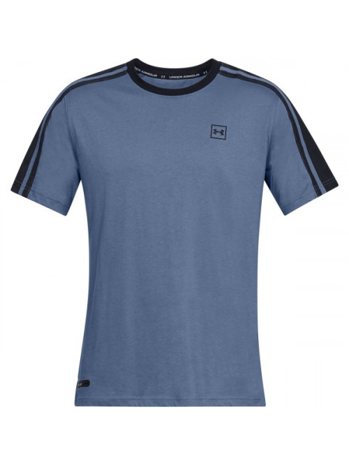 T-Shirt Under Armour Unstoppable Striped blau