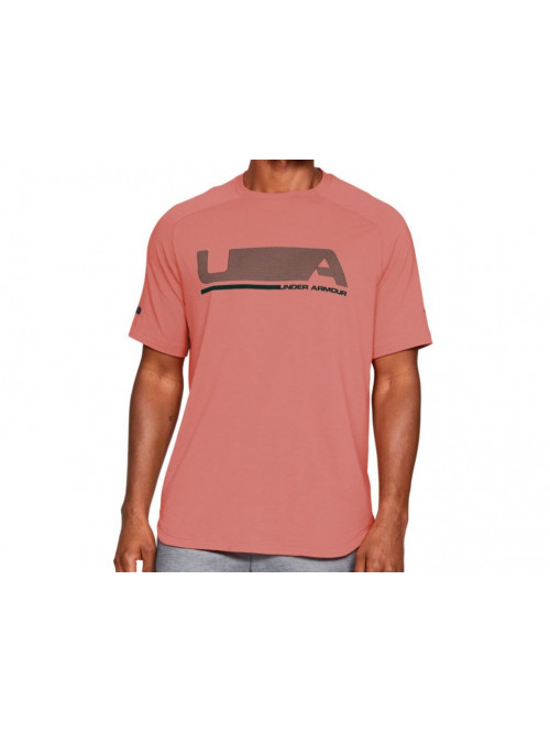T-Shirt Under Armour Unstoppable Move orange