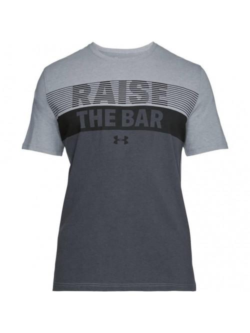 T-Shirt Under Armour Raise The Bar grau