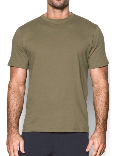 T-Shirt Under Armour Tactical Armee grün