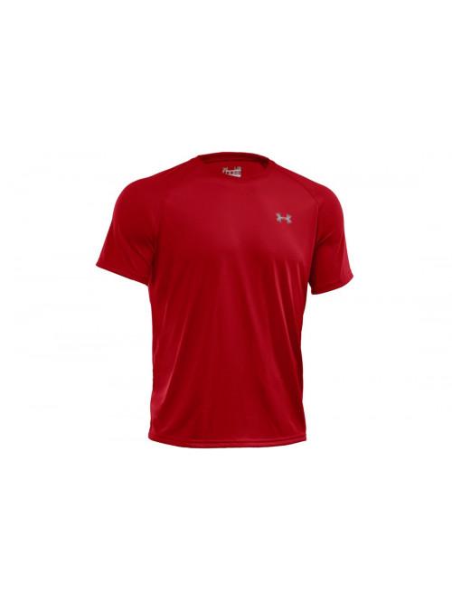 T-Shirt Under Armour Tech rot