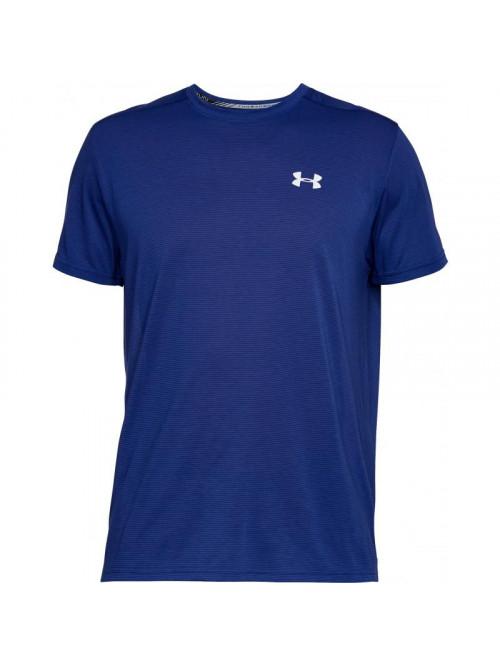T-Shirt Under Armour Threadborne Run dunkelblau