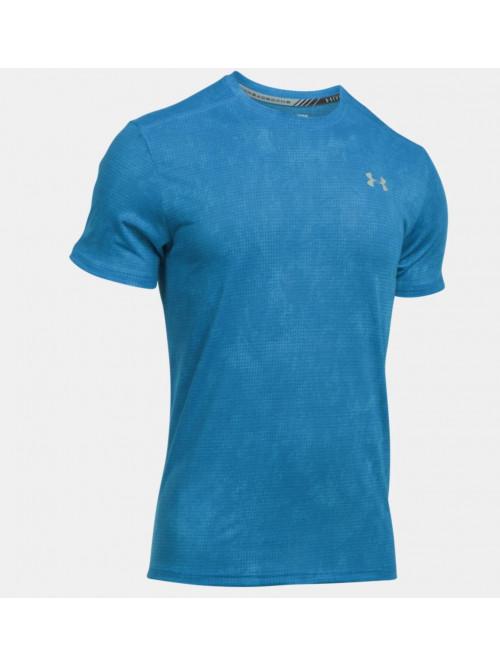 T-Shirt Under Armour Threadborne Run blau