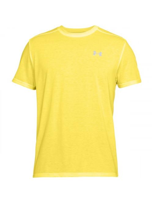 T-Shirt Under Armour Threadborne Run Gelb