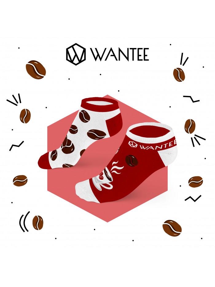 Knöchel Socken Kaffeetrinker Wantee