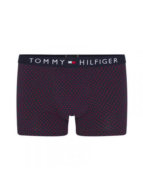 Herren Boxer Tommy Hilfiger All-Over Print Cotton Trunks Schwarz / Gemustert