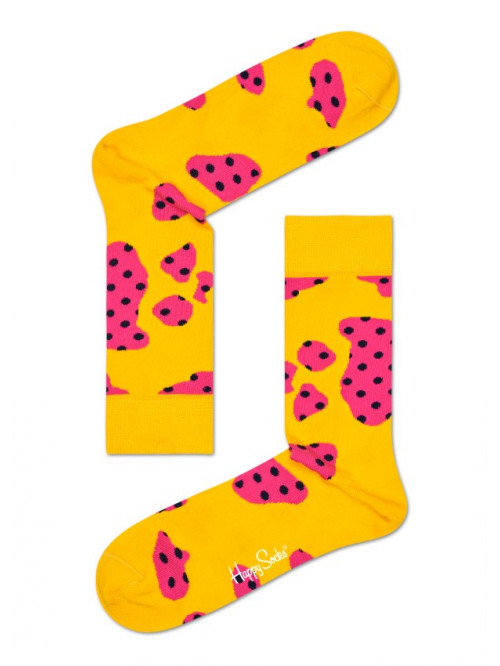 Socken Happy Socks Cow - Gelb
