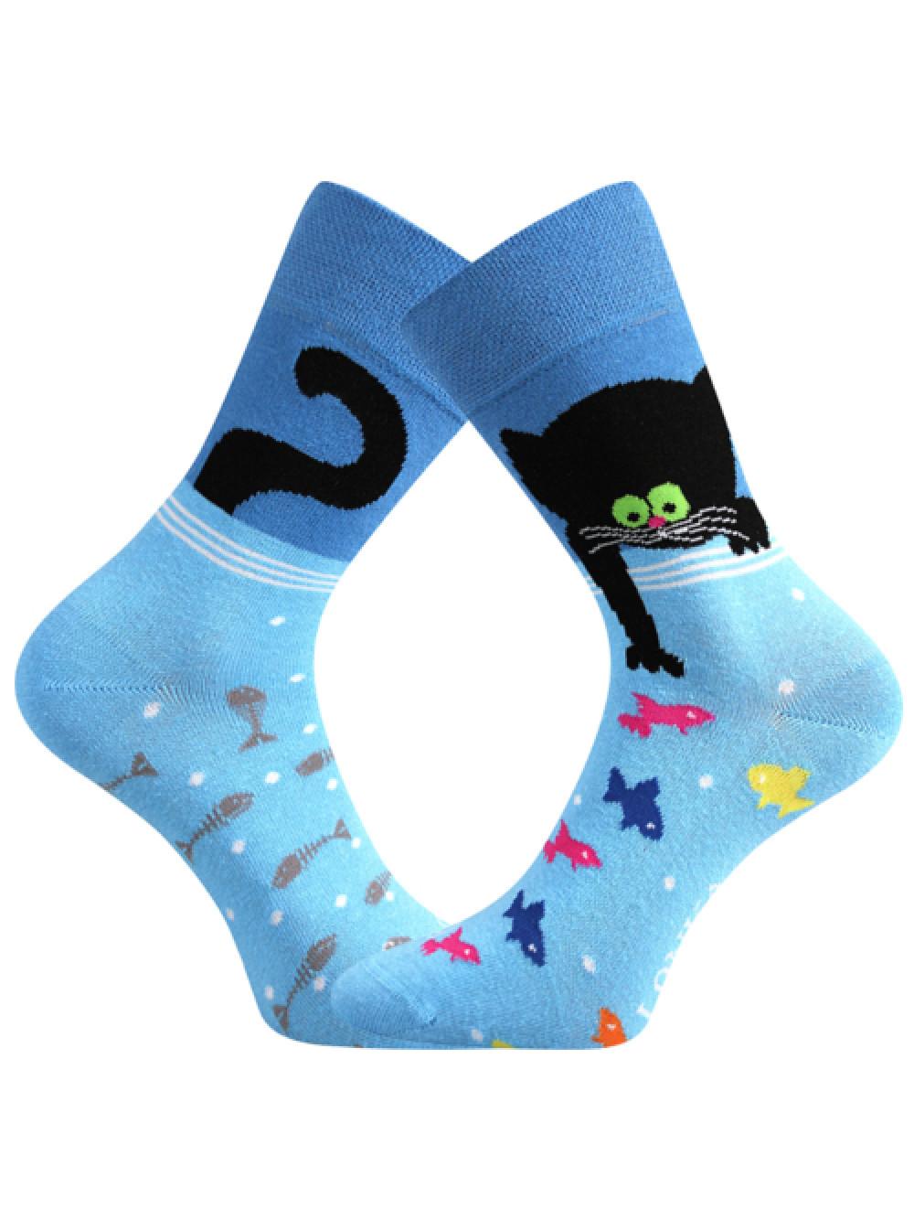 Socken Kater Lonka Doble