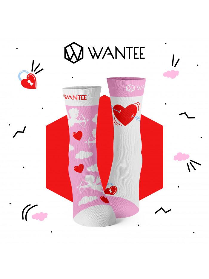 Valentinstag Geschenkbox Socken für ein Paar Wantee