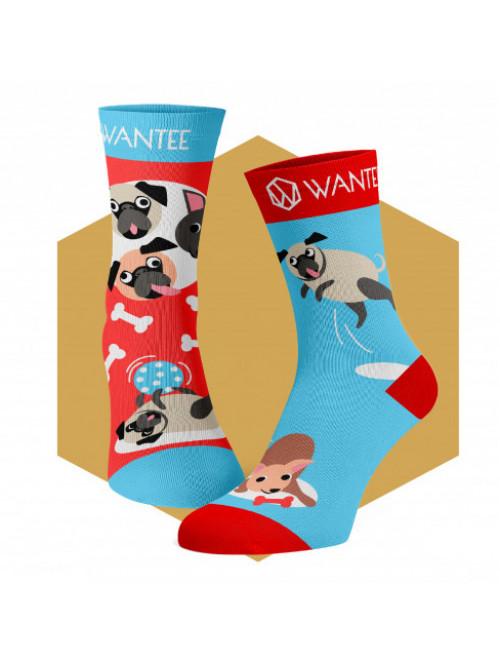 Kinder Socken Verspielte Hunde Wantee
