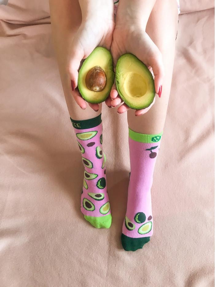 Socken Avocado Wantee