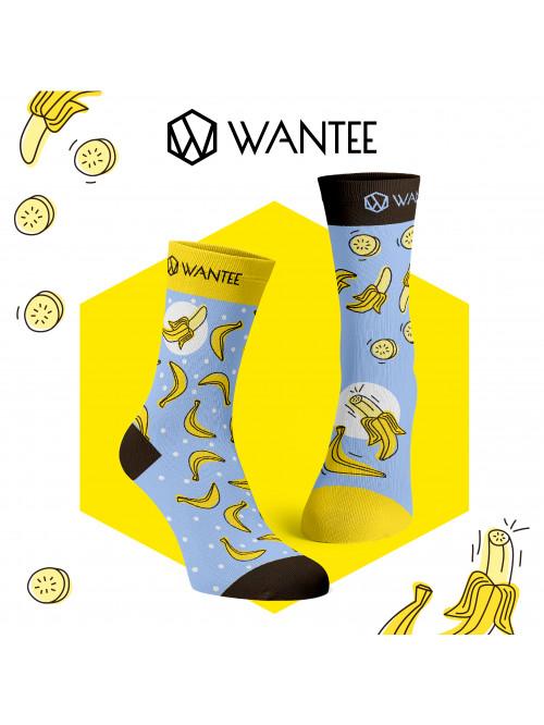 Socken Bananen Wantee