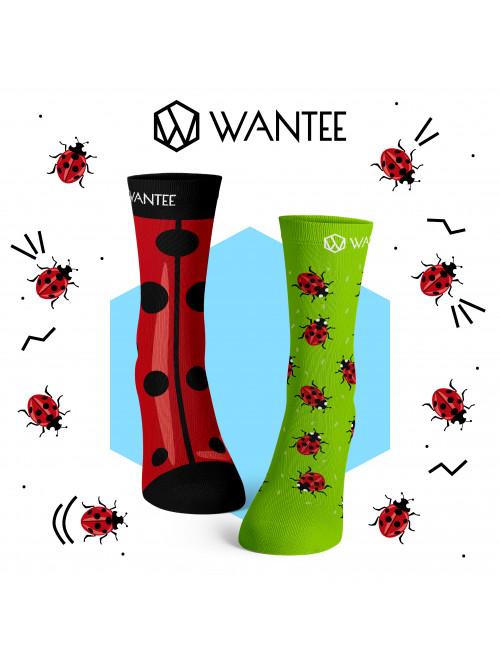 Socken Marienkäfer Wantee
