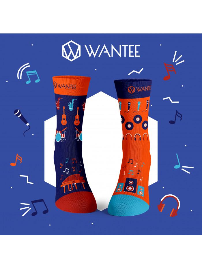 Socken Musiker Wantee