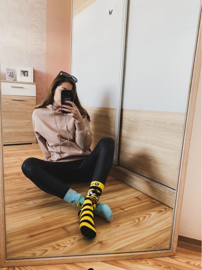 Socken Wütende Bienen Wantee