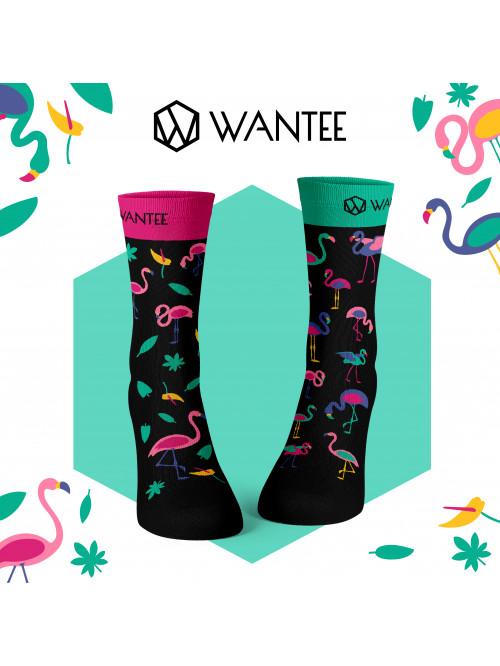 Socken Flamingo Wantee
