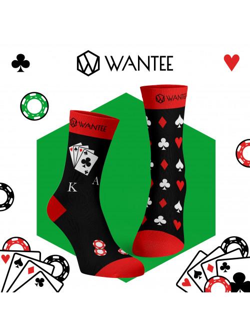 Socken Poker Wantee