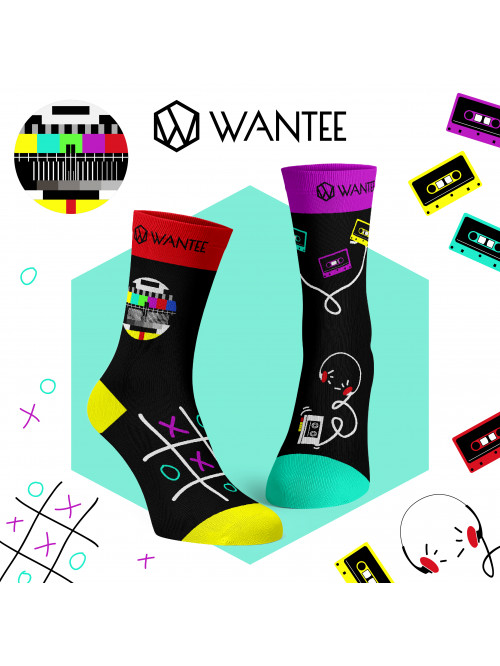 Socken Retro Wantee