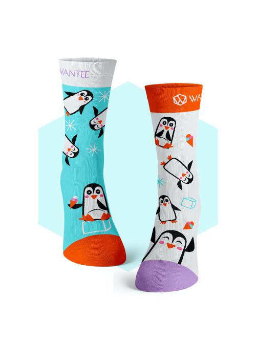 Socken Pinguine Wantee