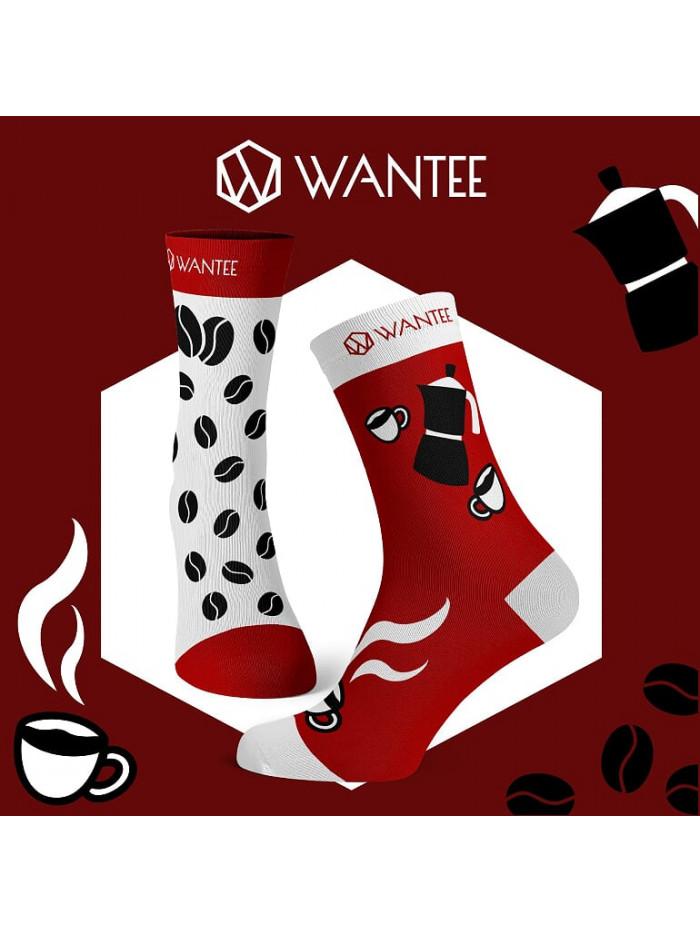 Socken Kaffeetrinker Wantee