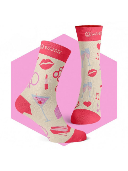Socken Ladies Night Wantee