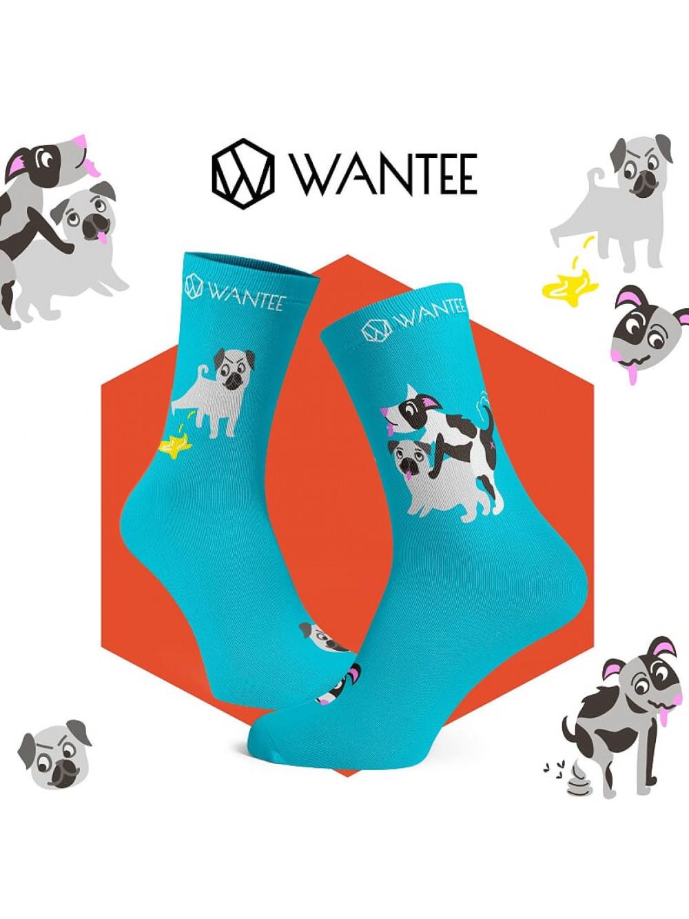 Socken Ungezogen Hunde Wantee