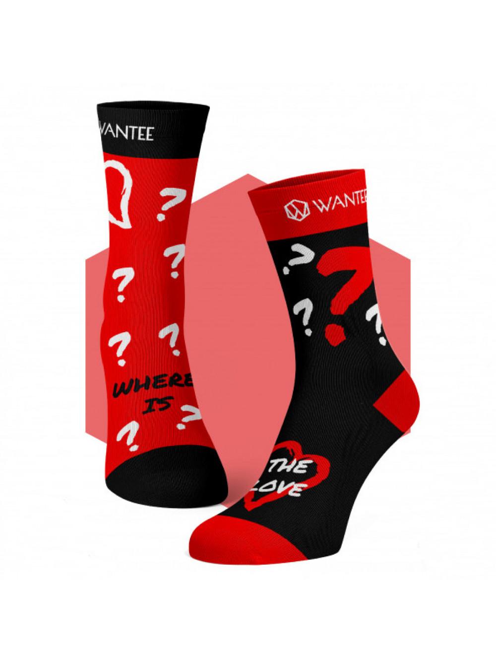 Socken Where is The Love Wantee