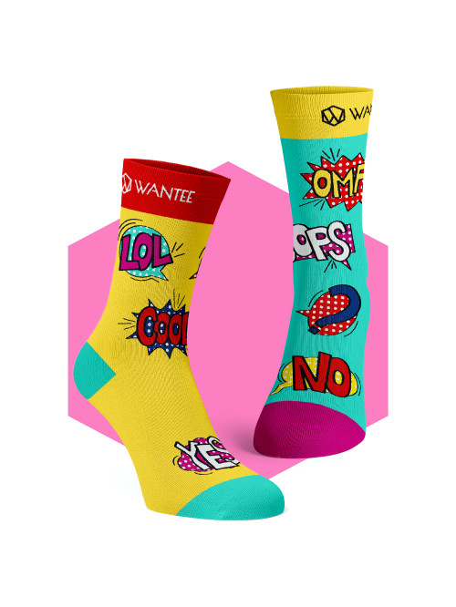 Socken Yes Or No Wantee